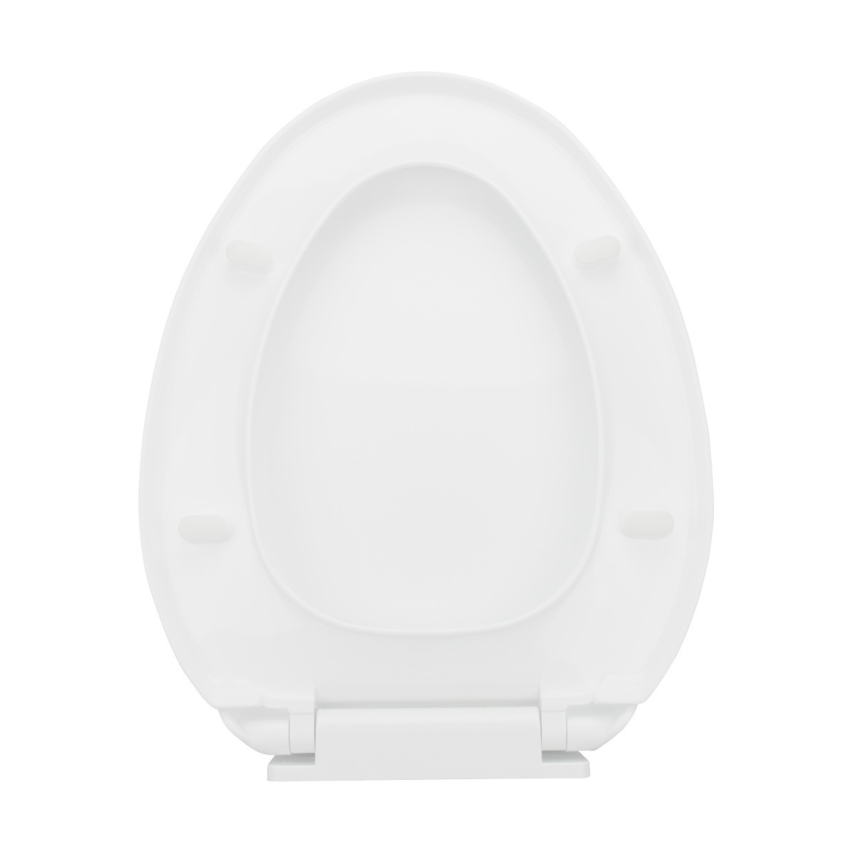 White Elongated Bathroom Toilet Seat Slow EZ Close No Slam Durable Plastic 3Pack elongated toilet seat toilet soft close seat plastic bathroom toilet seats