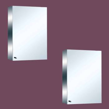 22 Stainless Steel Medicine Cabinet Mirror Wall Mount Set of 2 Medicine Chest Medicine Cabinet Bathroom Cabinet