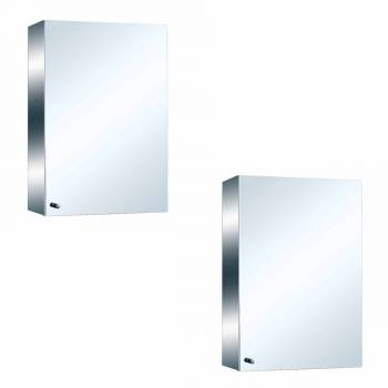 <PRE>22inch Stainless Steel Medicine Cabinet Mirror Wall Mount Set of 2</PRE>zoom1