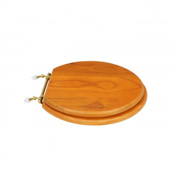 <PRE>Bathroom Toilet Seat Golden Amber Hard Wood Elong Brass PVD </PRE>zoom3