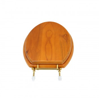 <PRE>Bathroom Toilet Seat Golden Amber Hard Wood Elong Brass PVD </PRE>zoom4