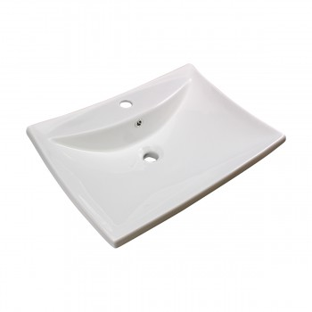 <PRE>Bathroom Sink White China Deluxe Square Wall Mount Set of 2</PRE>zoom4