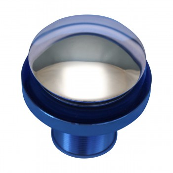 <PRE>Blue Tempered Glass Vessel with Drain, Mounting Ring, Mini Sink Mount Set of 2</PRE>zoom9