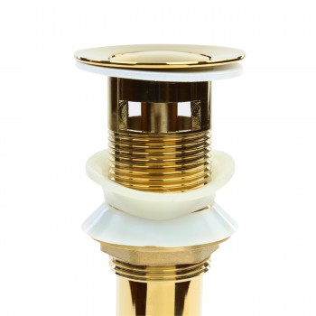 Sink Drain PVD Brass PopUp With Overflow Pack of 2 Sink Drain Sink Drains Bathroom Sink Drain