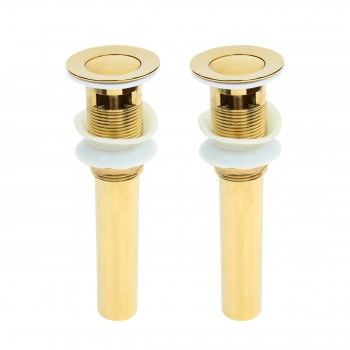 <PRE>Sink Drain PVD Brass Pop-Up With Overflow Pack of 2</PRE>zoom1