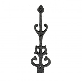 <PRE>Wrought Iron Dummy Hinge Decorative Cover Plate 11inch </PRE>zoom1