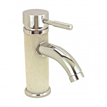 <PRE>2 Bathroom White Marble Faucet Chrome Single Hole 1 Handle </PRE>zoom4