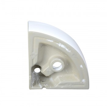 <PRE>Bathroom Triangle Small White Corner Vessel Sink Above Counter Stain Resist</PRE>zoom5