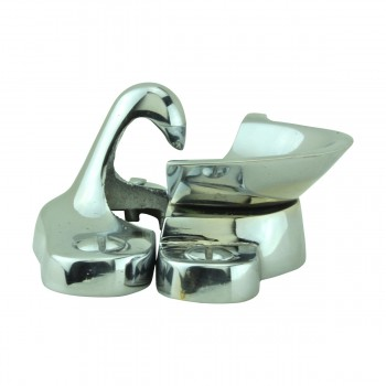 <PRE>2 Traditional Solid Brass Window Sash Lock Bright Chrome </PRE>zoom9