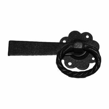 <PRE>2 Floral Gate Latch Heavy Duty Wrought Iron  5inch W </PRE>zoom3