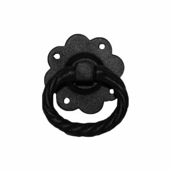 <PRE>2 Floral Gate Latch Heavy Duty Wrought Iron  5inch W </PRE>zoom4