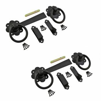 <PRE>Floral Gate Latch Cast Iron Rustproof Finish 7 in W Pack of 2</PRE>zoom1