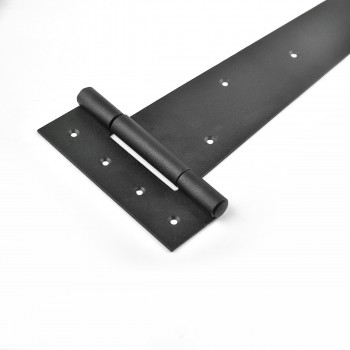 <PRE>4 Tee Hinge Black Wrought Iron Heavy Duty RSF finish 25 1/4inch</PRE>zoom5