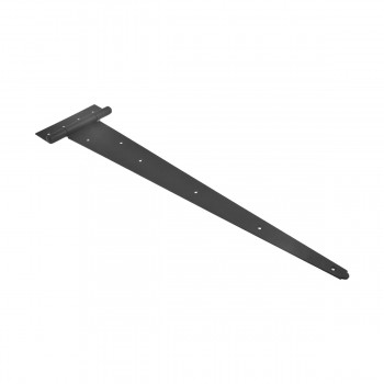 <PRE>4 Tee Hinge Black Wrought Iron Heavy Duty RSF finish 25 1/4inch</PRE>zoom7