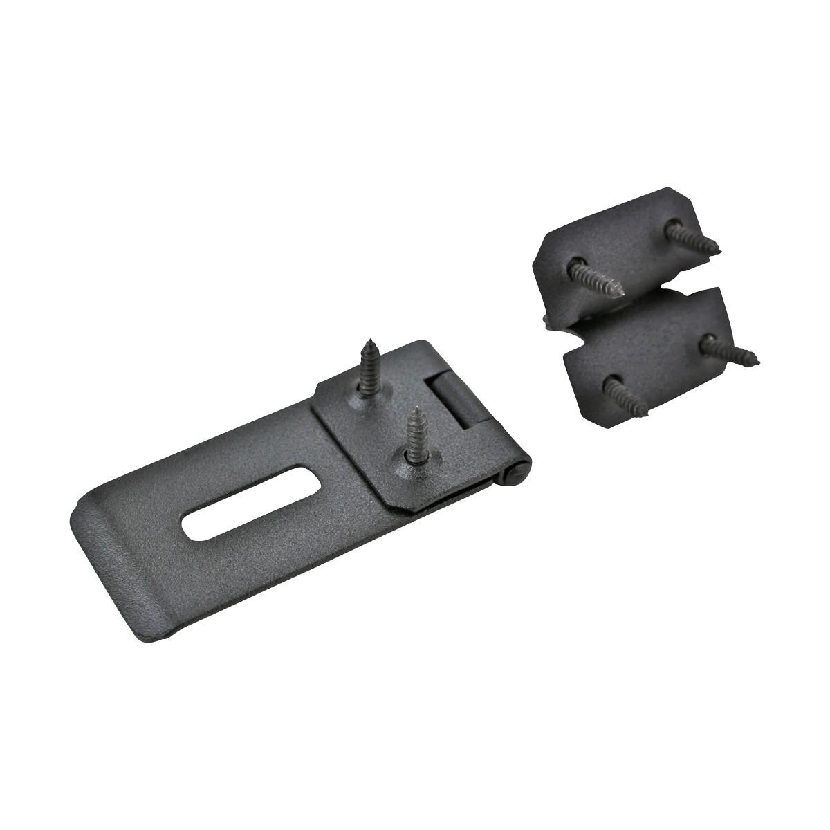 4 Pcs Hasps Black Iron 1 34 H x 4 14 W Hasps Black Iron Hasp Wrought Iron Hasp