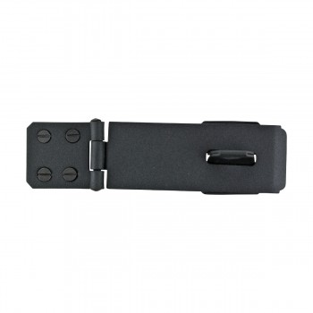 "<PRE>4 Hasp Black Wrought Iron 1 5/8inch H x 5 7/8"" W </PRE>zoom4"