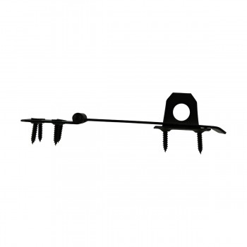 "<PRE>4 Hasp Black Wrought Iron 1 5/8inch H x 5 7/8"" W </PRE>zoom6"