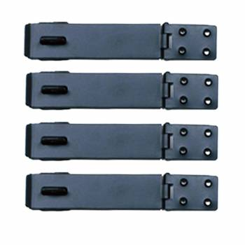 4 Hasp Black Wrought Iron 1 58 H x 5 78 W