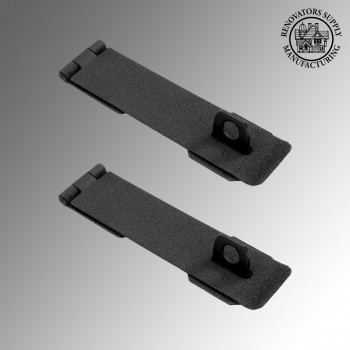 "<PRE>Hasp Black Cast Iron 1 5/8inch H x 8 1/4"" W Pack of 2</PRE>zoom2"