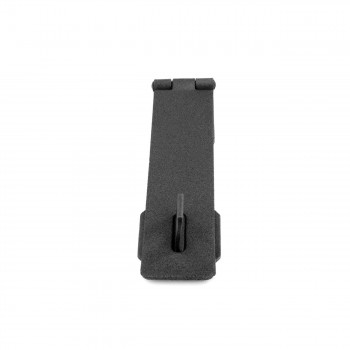 Hasp Black Cast Iron 1 58 H x 6 1/4 W Pack of 2 Hasps Hasp Wrought Iron Hasp
