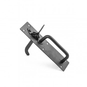 <PRE>2 Iron Gate Latch Norfolk Gate Lock Black Iron </PRE>zoom6