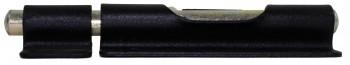 <PRE>4 Door Bolt Barrel Slide Black Iron 4 3/8&quot; W </PRE>