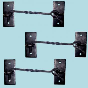<PRE>Cabin Hook Black Cast Iron Rustproof Eye Shed Gate Door Latch 6 in. Set of 3</PRE>zoom2