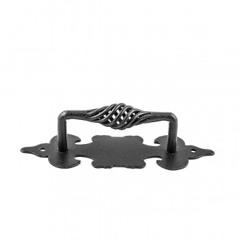 <PRE>2 Cabinet Pull Birdcage Black Wrought Iron 6inch </PRE>zoom3