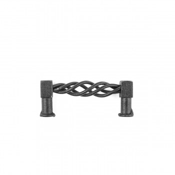 <PRE>2 Drawer Pulls Black Wrought Iron 3-1/2inch Set of 2 </PRE>zoom4