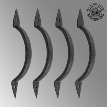 <PRE>4 Door Pull Spike Black Wrought Iron 6 3/8inch H X 1 1/4&quot; W </PRE>zoom2