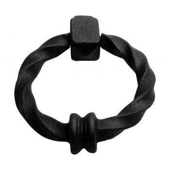 <PRE>Black Door Knocker Cast Iron Rustproof Finish 7 in H x 5.5 in W  Pack of 2</PRE>zoom13