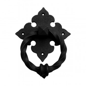 <PRE>Black Door Knocker Cast Iron Rustproof Finish 7 in H x 5.5 in W  Pack of 2</PRE>zoom9