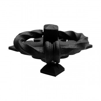 <PRE>Black Door Knocker Cast Iron Rustproof Finish 7 in H x 5.5 in W  Pack of 2</PRE>zoom12