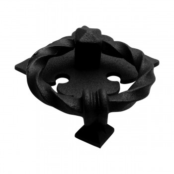 <PRE>Black Door Knocker Cast Iron Rustproof Finish 7 in H x 5.5 in W  Pack of 2</PRE>zoom10