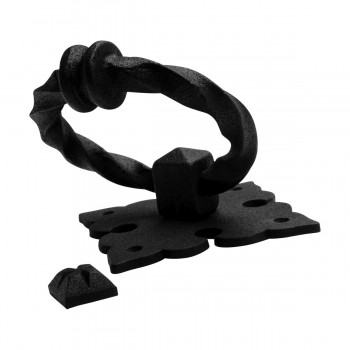 <PRE>Black Door Knocker Cast Iron Rustproof Finish 7 in H x 5.5 in W  Pack of 2</PRE>zoom14