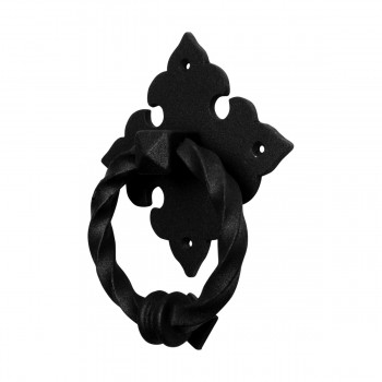<PRE>Black Door Knocker Cast Iron Rustproof Finish 7 in H x 5.5 in W  Pack of 2</PRE>zoom11