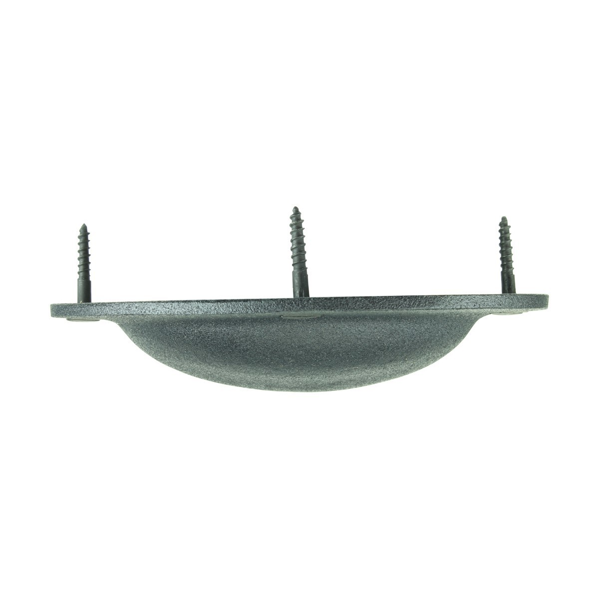 Cabinet or Drawer Bin Pull Black Iron Cup 4 Inch Wide Set Of 6 Furniture Hardware Cabinet Pull Cabinet Hardware