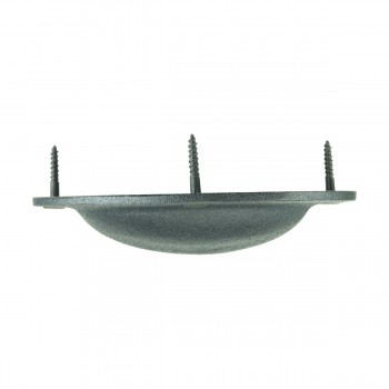 <PRE>Cabinet or Drawer Bin Pull Black Iron Cup 4 Inch Wide Set Of 6</PRE>zoom9