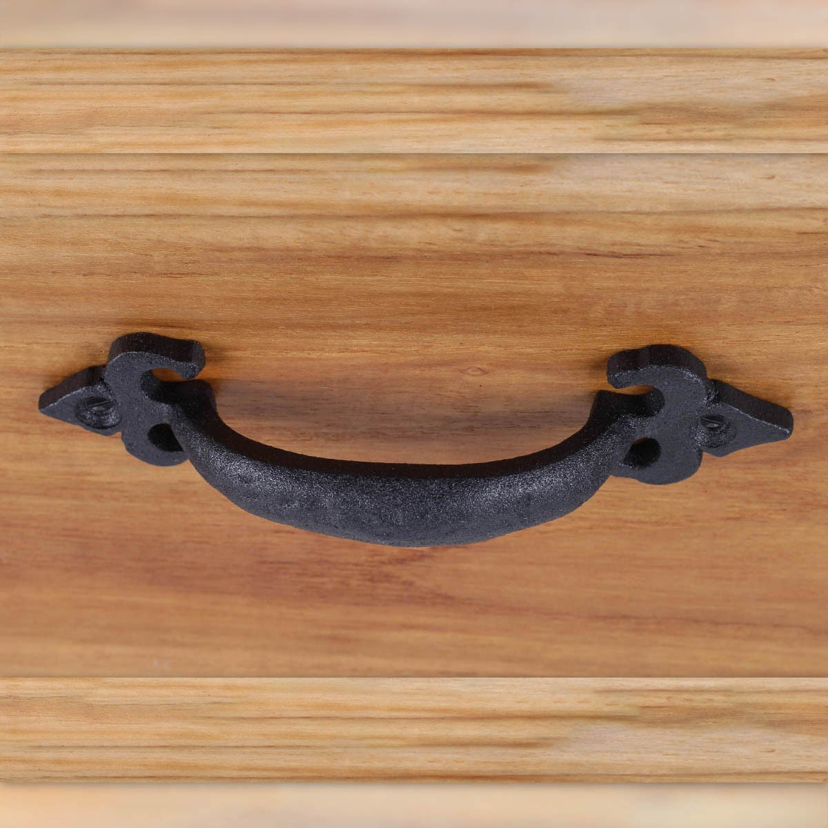 Iron Cabinet Pulls Hand Forged Drawer Pulls Black 6 Black Antique Rustic Cabinet Pull Black Cabinet Handle Pull Small Drawer Pull