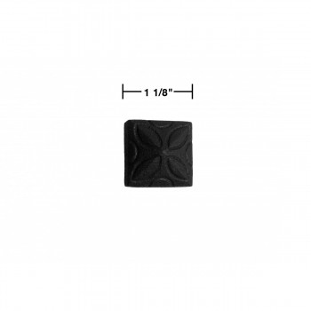 spec-<PRE>6 Clavos Decorative Iron Nails Big Head Black Wrought Iron Nails 4 1/4</PRE>