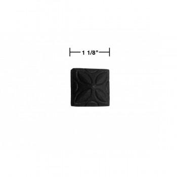 spec-<PRE>6 Clavos Decorative Nail Big Head Black Iron 4 1/4&quot; H </PRE>