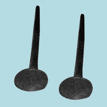Clavos Black Wrought Iron Nails Square Black Iron Nails 4 14 X 1 1 Iron Nails wrought iron nails Decorative Nail Heads