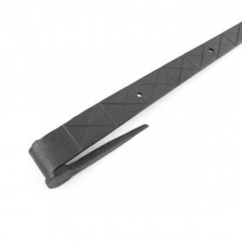 <PRE>2 Bean Diamond Etch Pintle Door Strap Hinge Iron 14inch </PRE>zoom8