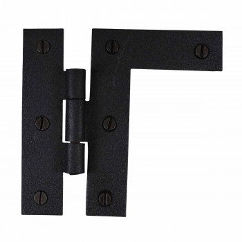 H-L Flush Cabinet Hinge Iron Right Side 3.5