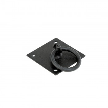 <PRE>6 Cabinet Ring Pull Mission Black Wrought Iron 1 3/4inch </PRE>zoom4