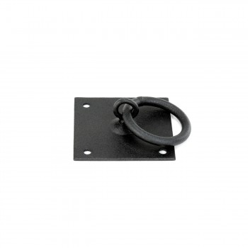 <PRE>6 Cabinet Ring Pull Mission Black Wrought Iron 1 3/4inch </PRE>zoom5