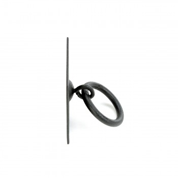 <PRE>6 Cabinet Ring Pull Mission Black Wrought Iron 1 3/4inch </PRE>zoom9