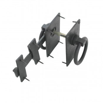 <PRE>2 Black Iron Gate Latch Lock Colonial Style Fence Gate Latch </PRE>zoom10