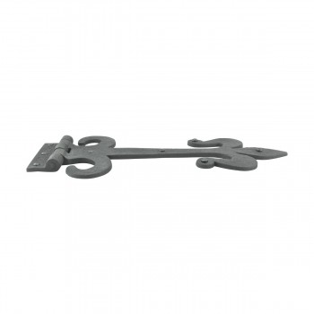 <PRE>Decorative Strap Hinge Wrought Iron Fleur De Lis 12inch Long Set of 2</PRE>zoom10