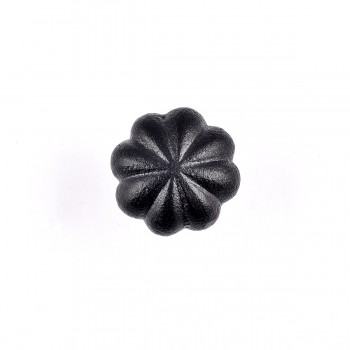 Wrought Iron Floral Mission Cabinet Hardware Knobs Black 1 Dia Set of 10 Cabinet Hardware Cabinet Knobs Cabinet Knob